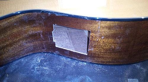 Installation micro et piezo sur guitare acoustique ou autres. Preamp de guitare RDL Luthier