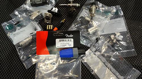 Vente de connecteur pour réparation de fil ou modifications, prise 1/4, xlr, micro, 1/8 , auxiliaire